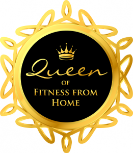 Queen of Fitness from Home Badge_F