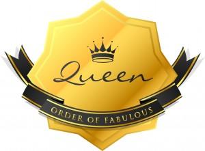 QueenOf Order of Fabulous Badge_F