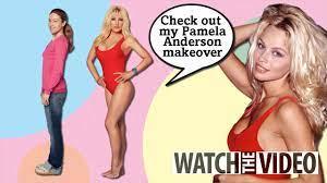 pamela anderson lookalike video